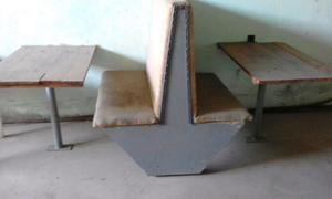 Mesa sillas varias
