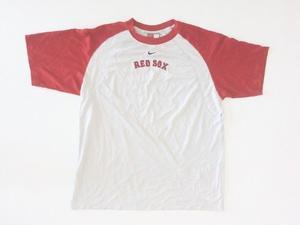 Remera Nike Baseball Manga Corta Red Sox Talle Xl.