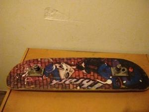 Tabla de skate con tracks sin ruedas