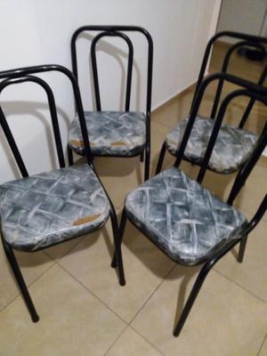 Vendo por viaje 4 sillas de hierro guaymallen posot class - Sillas de viaje ...