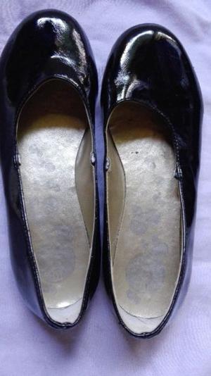 Ballerinas charol negro 33 un uso
