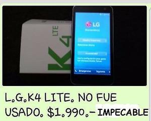 LG K4 LITE COMPLETO EN SU CAJA