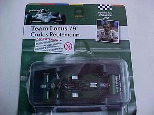 Leyendas Fórmula F1 Lotus 79 Carlos Reutemann 1/43