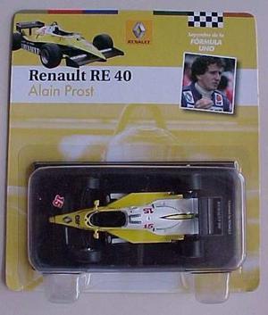 Leyendas Fórmula F1 Renault Re 40 / Prost 1/43 C/revista