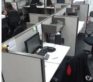 Lote De Escritorios De Oficina Tipo Box - Puestos de Trabajo