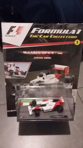 Mclaren Mp Senna 1/43 Coleccion Formula 1 Salvat