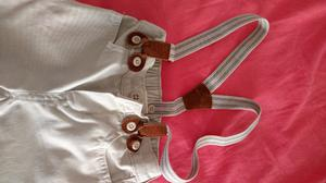Pantalón con tiradores para Bebé 11 Meses