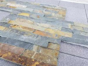 Piedra Óxido Natural Importada 15 X 60 Cm