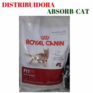 ROYAL CANIN FIT 32 X 7,5 KG MAS PIEDRAS SANITARIAS X 15 KG