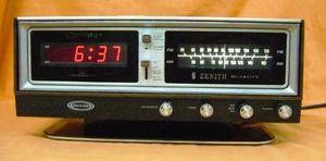 Radio Reloj ZENITH Circle of Sound, Mod. H472W