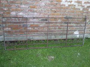 Rejas de hierro para puerta-ventana