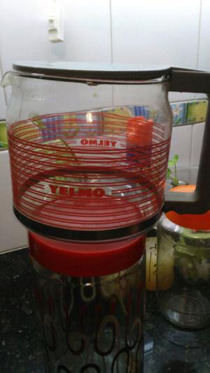 Repuestos de vaso de cafetera antigua yelmo de vidrio