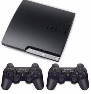 Vendo PS3 Slim 160GB + Kit Move + 2 Joysticks +7 Juegos