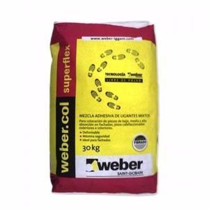 Weber Pegamento Superflex X30 Losa Radiante
