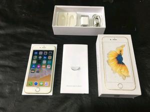 iPhone gb dorado libre en caja completo