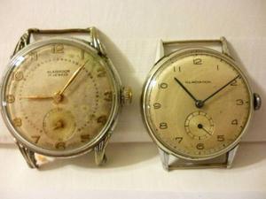 Lote De 2 Relojes Gladiador Seg A Las 6 Swiss Made A Revisar