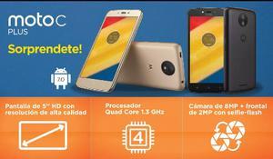 Motorola Moto C Plus Libre 16gb Local Moron