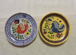 Platos decorativos cerámica Bariloche