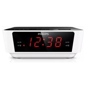Radio Reloj Despertador Digital Fm Philips Aj Tio Musa