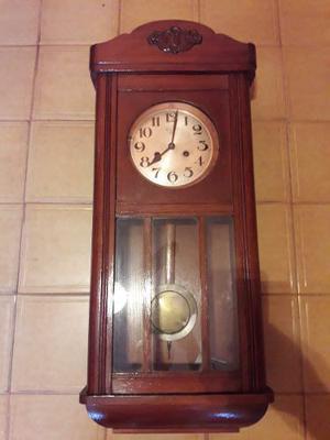 Reloj A Péndulo De Pared Campanadas Doble Cuerda