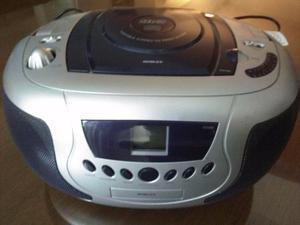 Reproductor Noblex de CD MP3 Con Radio AM FM CDR-999 ESTADO
