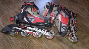 Rollers Action Abec 7 num  ORIGINALES