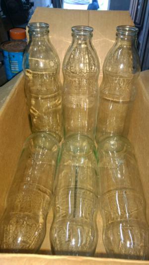 Vendo botellas de vidrio