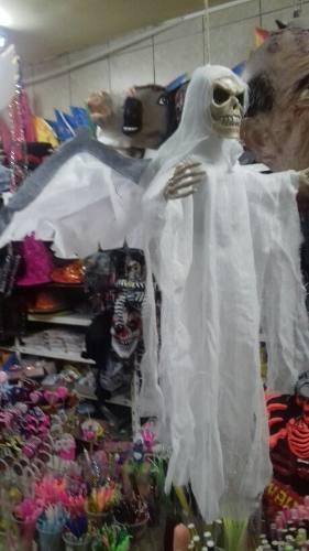 Adorno Halloween Angel De La Muerte. Luz Sonido Chirimbolos