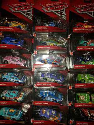 Autos Cars 3 Mattel Combo X10 Autos Incl Storm Y Cruz Ramire