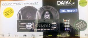 Estéreo con 2 parlantes 50w x 4, con USB, control remoto,