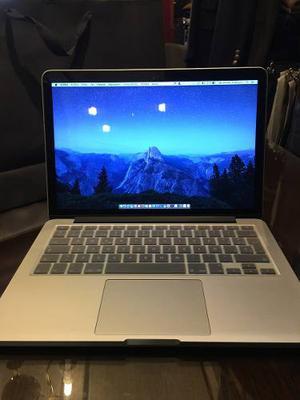 Macbook Pro Retina 13 Pulg Como Nueva Liquido