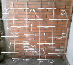 Mural porta macetas 1,50 x 1,50 mts