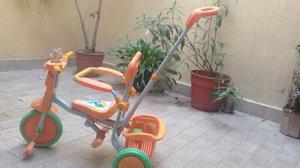 Triciclo y silla para comer