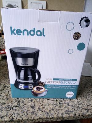 Vendo cafetera electrica programable marca kendal