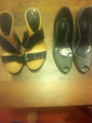Vendo zapatos 2 x 300 como nuevos