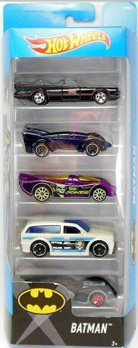 Autitos Hot Wheels Set Por 5