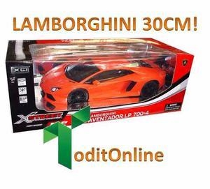 Auto A Radio Control Lamborghini Grande 30cm Super Oferta!!!
