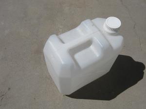 Bidon de plastico 20 litros