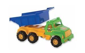 Camion Volcador Grande Duravit 70 Cm Jugueteria Aplausos