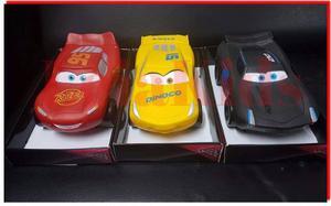 Cars Auto Con Sonido Grande Plastisol Rayo Mcqueen Y Otros