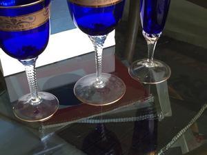 Copas de cristal checoslovacas