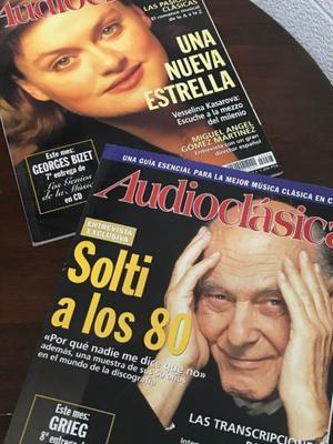 Dos revistas Audioclásica