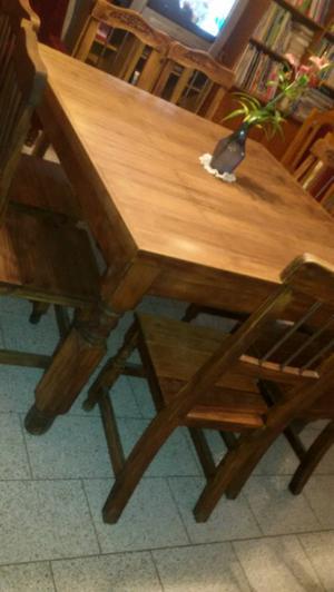 Juego mesa sillas