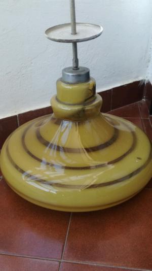 Lámpara Antigua de Vidrio