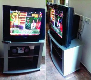 """TV Philips 29"""" mas Mesa TV"""