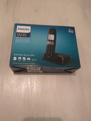 Teléfono Philips Con Contestador Nuevo D