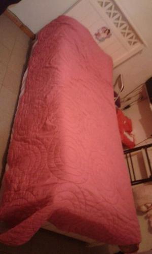 Vendo cama 1 plaza y media
