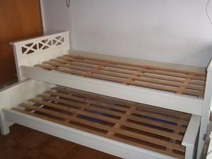 cama doble superpuesta
