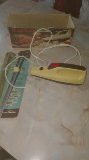 Cuchillo eléctrico Moulinex impecable