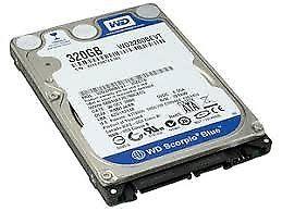 """DISCO RIGIDO SATA DE 320GB 2.5"""" COMPATIBLE CON NTBK/PC/PLAY3"""